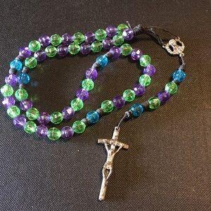 Vintage beaded Italy Rosary